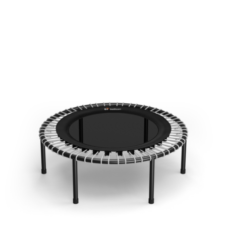 Black Comfort Mat / Silver Bungees