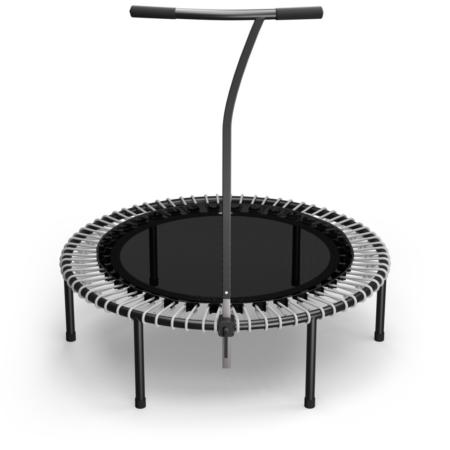 Black Standard Mat / Silver Bungees