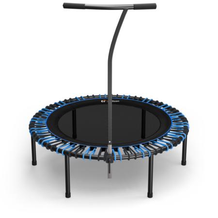 Black Comfort Mat / Blue & Black Bungees