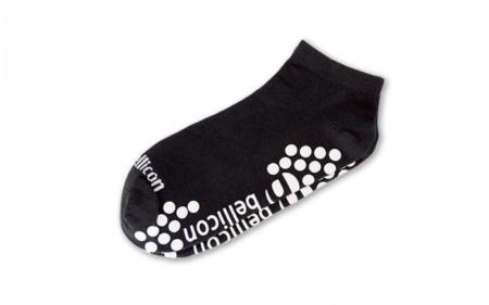 Anti Skid Socks, Black, One Size